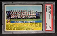 Cleveland Browns Team [PSA7]