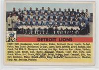 Detroit Lions Team [GoodtoVG‑EX]