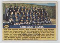 Chicago Bears Team [Good to VG‑EX]