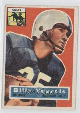 1956 Topps #120 - Billy Vessels