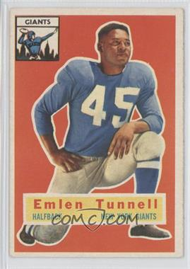 1956 Topps #17 - Emlen Tunnell