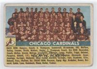 Chicago Cardinals Team [GoodtoVG‑EX]