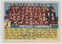 Chicago Cardinals Team [Poor to Fair]