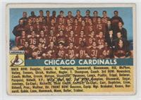 Chicago Cardinals Team [Good to VG‑EX]