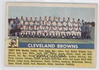 Cleveland Browns Team [GoodtoVG‑EX]