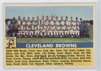 Cleveland Browns Team