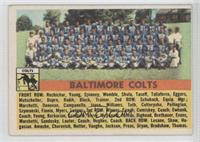 Baltimore Colts Team