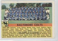 Baltimore Colts Teamn