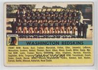 Washington Redskins Team [GoodtoVG‑EX]