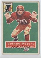 Volney Peters [Poor to Fair]