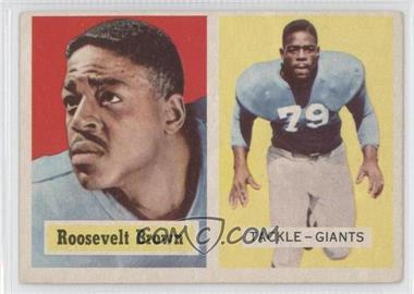 1957 Topps - [Base] #11 - Rosey Brown