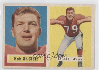 1957 Topps - [Base] #18 - Bob St. Clair