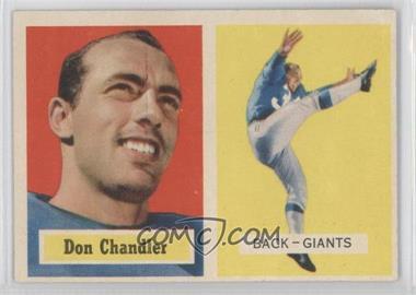 1957 Topps - [Base] #23 - Don Chandler