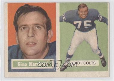 1957 Topps - [Base] #5 - Gino Marchetti