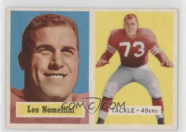 1957 Topps - [Base] #6 - Leo Nomellini
