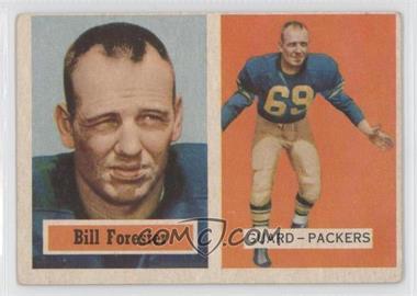 1957 Topps - [Base] #69 - Bill Forester [GoodtoVG‑EX]