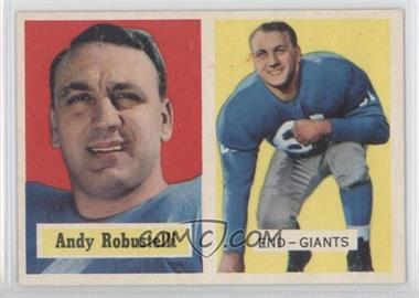 1957 Topps - [Base] #71 - Andy Robustelli