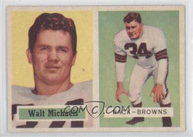 1957 Topps #102 - Walt Michaels