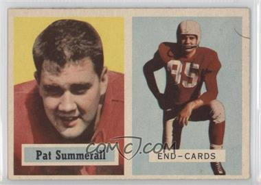 1957 Topps #14 - Pat Summerall
