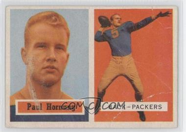 1957 Topps #151 - Paul Hornung