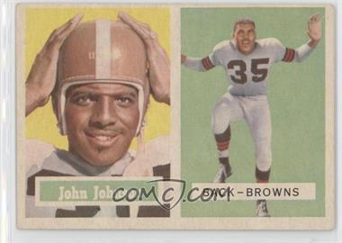 1957 Topps #16 - John Johnson