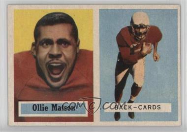 1957 Topps #26 - Ollie Matson