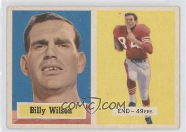 1957 Topps #42 - Billy Wilson