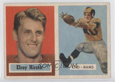 1957 Topps #46 - Elroy Hirsch