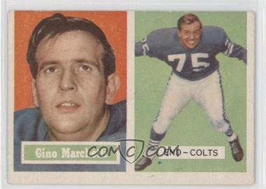 1957 Topps #5 - Gino Marchetti