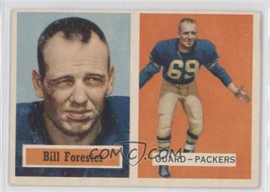 1957 Topps #69 - Bill Forester