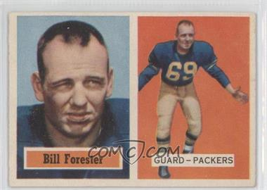 1957 Topps #69 - Bill Forester [Good to VG‑EX]
