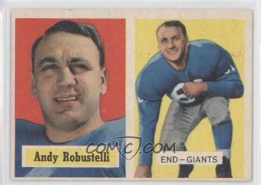 1957 Topps #71 - Andy Robustelli