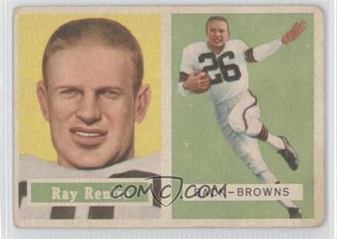 1957 Topps #76 - Ray Renfro [Good to VG‑EX]