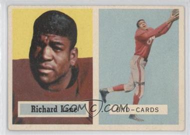 1957 Topps #85 - Dick Lane [Good to VG‑EX]