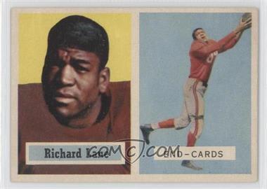 1957 Topps #85 - Dick Lane