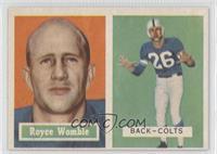 Royce Womble