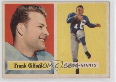 1957 Topps #88 - Frank Gifford