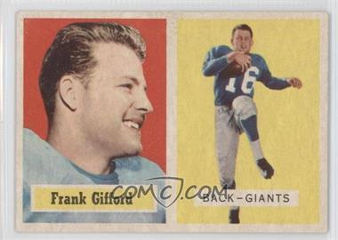 1957 Topps #88 - Frank Gifford