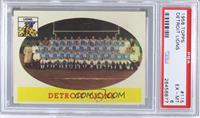 Detroit Lions Team [PSA6]