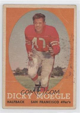 1958 Topps - [Base] #124 - Dicky Moegle