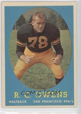 1958 Topps - [Base] #64 - R.C. Owens