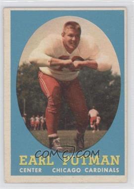 1958 Topps - [Base] #88 - Earl Putman