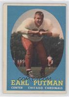 Earl Putman [GoodtoVG‑EX]