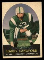 Harry Langford [EX]