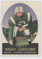Harry Langford