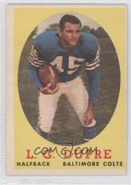 1958 Topps #117 - L.G. Dupre