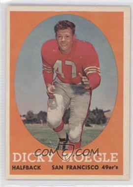 1958 Topps #124 - Dicky Moegle