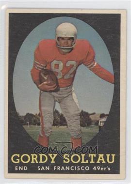 1958 Topps #130 - Gordie Soltau