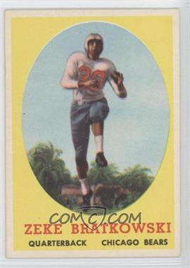 1958 Topps #23 - Zeke Bratkowski