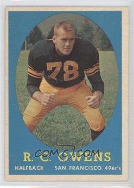 1958 Topps #64 - R.C. Owens